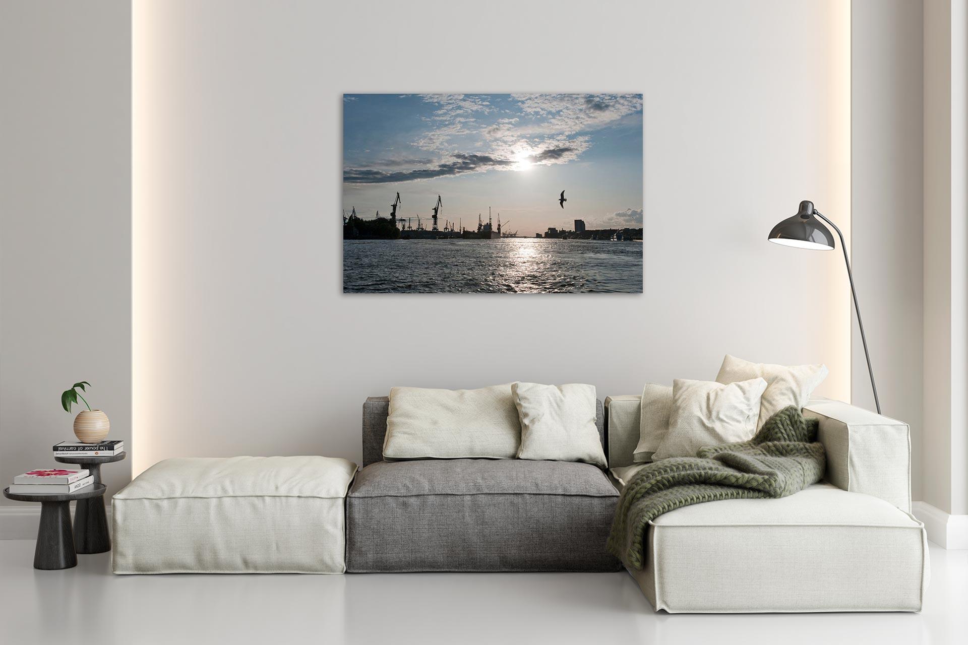 NL003-unten-am-fluss-landungsbruecken-hamburg-wandbild-auf-leinwand-acrylglas-aludibond-wohnzimmer