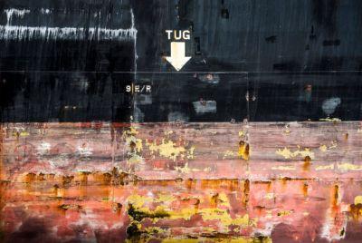 NL048 Schiffswand Hamburg-Wandbild auf Leinwand, Dibond oder hinter Acylglas