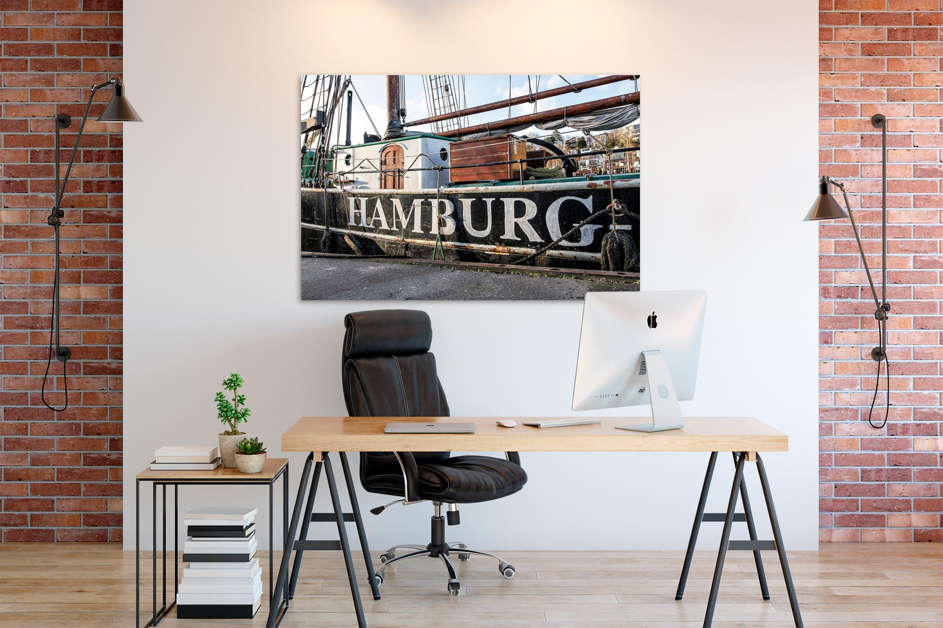 NL057-schiffswand-hamburg-wandbild-auf-leinwand-acrylglas-aludibond-buero