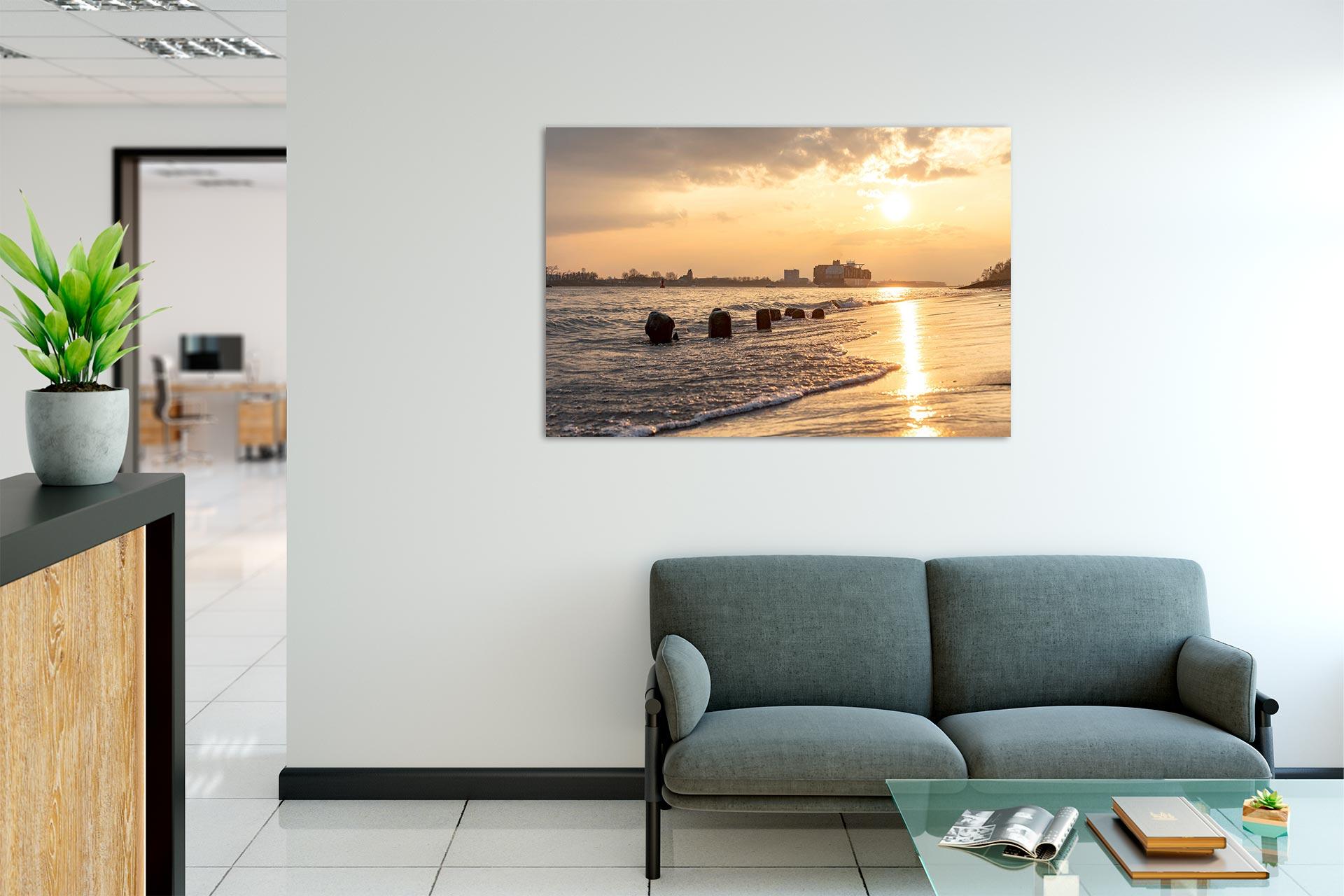 NL084-sommerabend-elbe-hamburg-wandbild-bild-auf-leinwand-acrylglas-aludibond-empfang