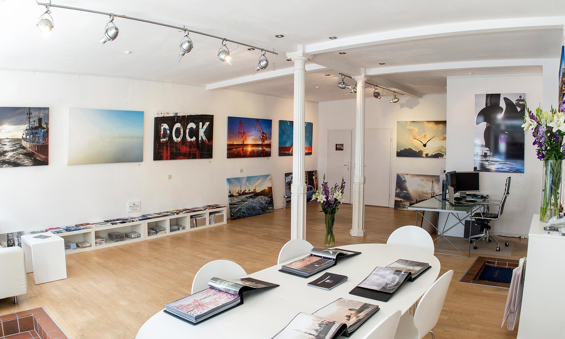 Kontakt michel und elbe Galerie für Hamburg-Fotografie