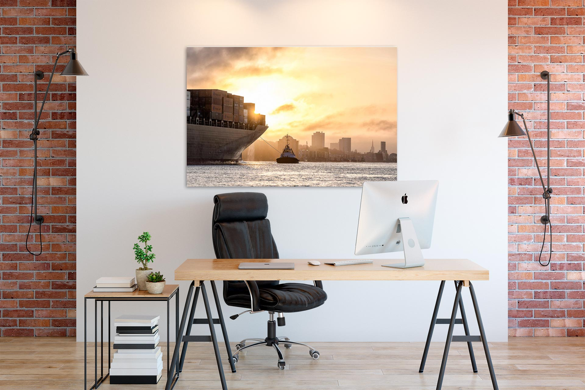 LCW235-fruehschicht-hamburg-wandbild-bild-auf-leinwand-acrylglas-aludibond_buero