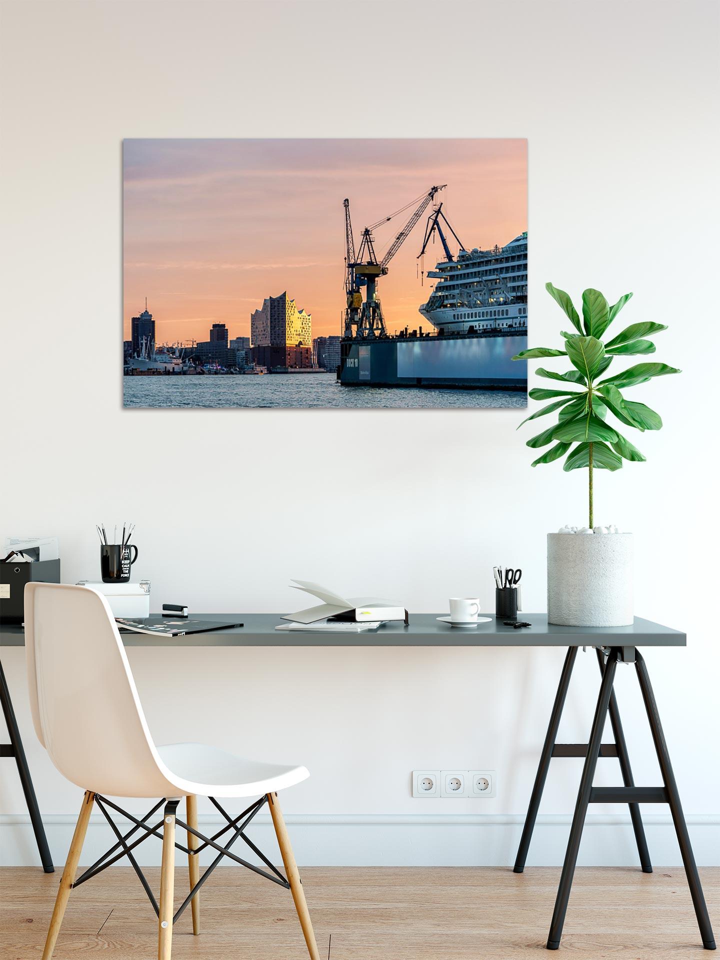 LCW256-dock-11i-hamburg-wandbild-bild-auf-leinwand-acrylglas-aludibond-arbeitszimmer
