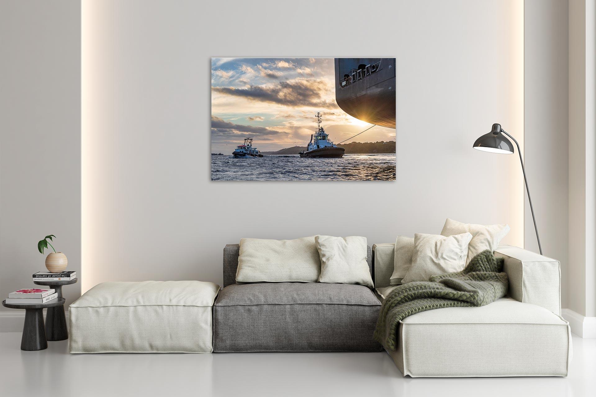 LCW257-lotse-hamburg-wandbild-bild-auf-leinwand-acrylglas-aludibond-wohnzimmer