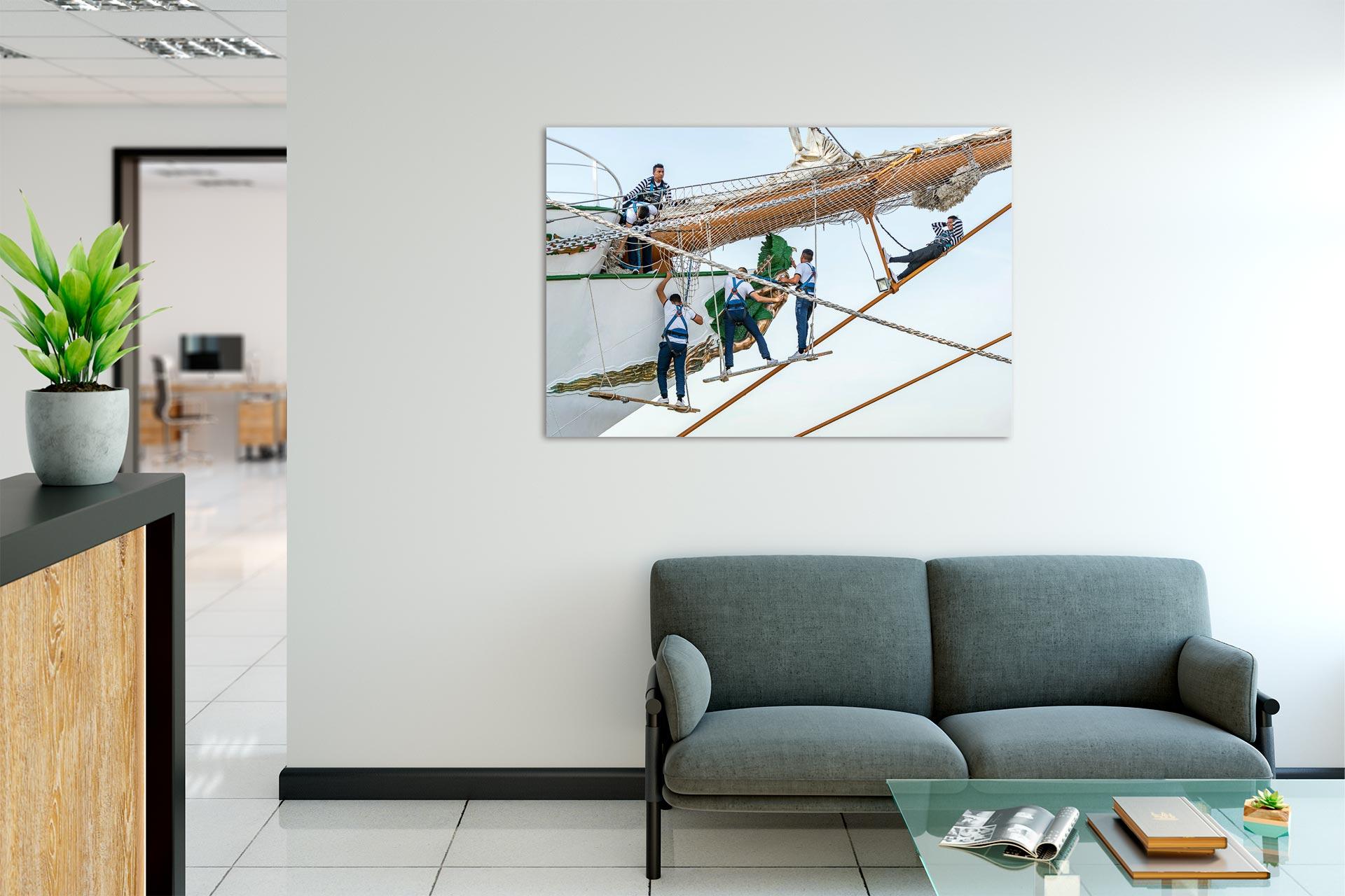 LCW263-marineros-hamburg-wandbild-bild-auf-leinwand-acrylglas-aludibond-empfang