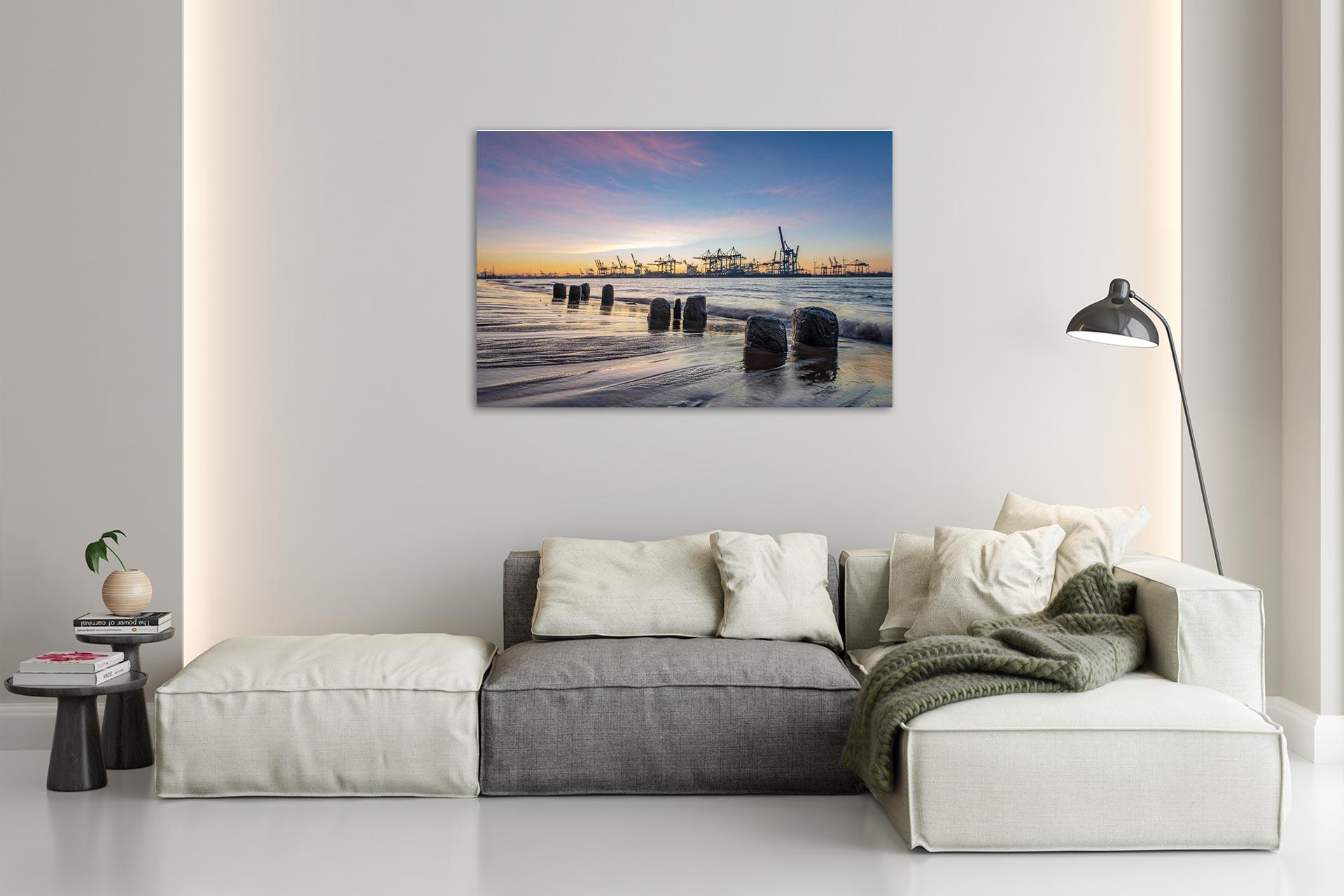 LCW271-dawn-hamburg-wandbild-bild-auf-leinwand-acrylglas-aludibond-wohnzimmer
