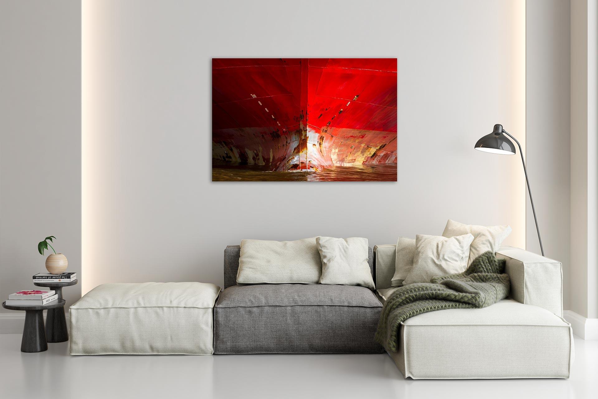 JS001-der-rote-bug-wandbild-bild-auf-leinwand-acrylglas-aludibond-wohnzimmer