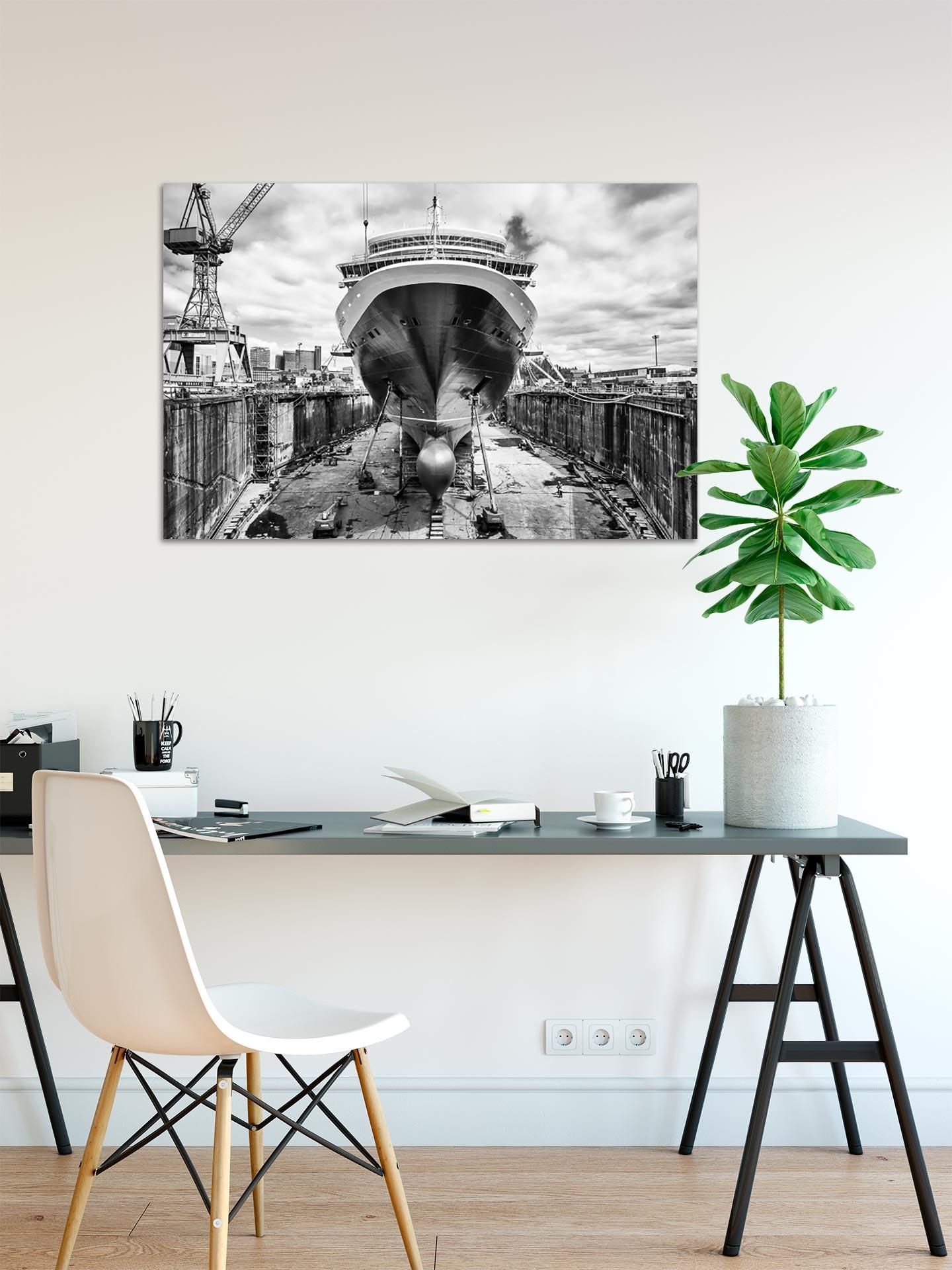 JS004-queen-elisabeth-wandbild-bild-auf-leinwand-acrylglas-aludibond-arbeitszimmer