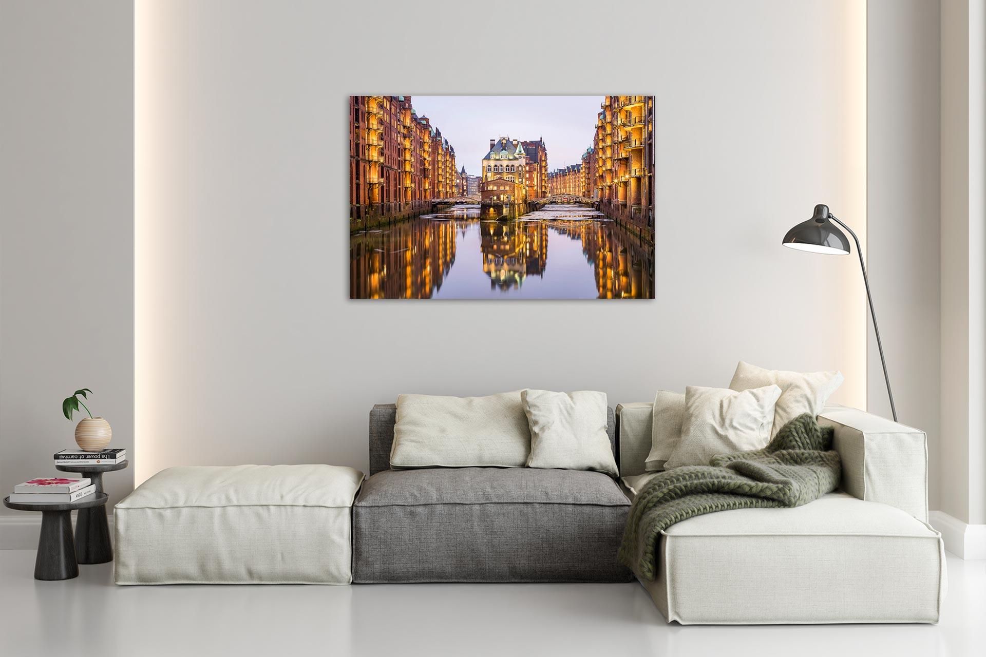 JS028-speicherstadt-hamburg-wandbild-bild-auf-leinwand-acrylglas-aludibond-wohnzimmer