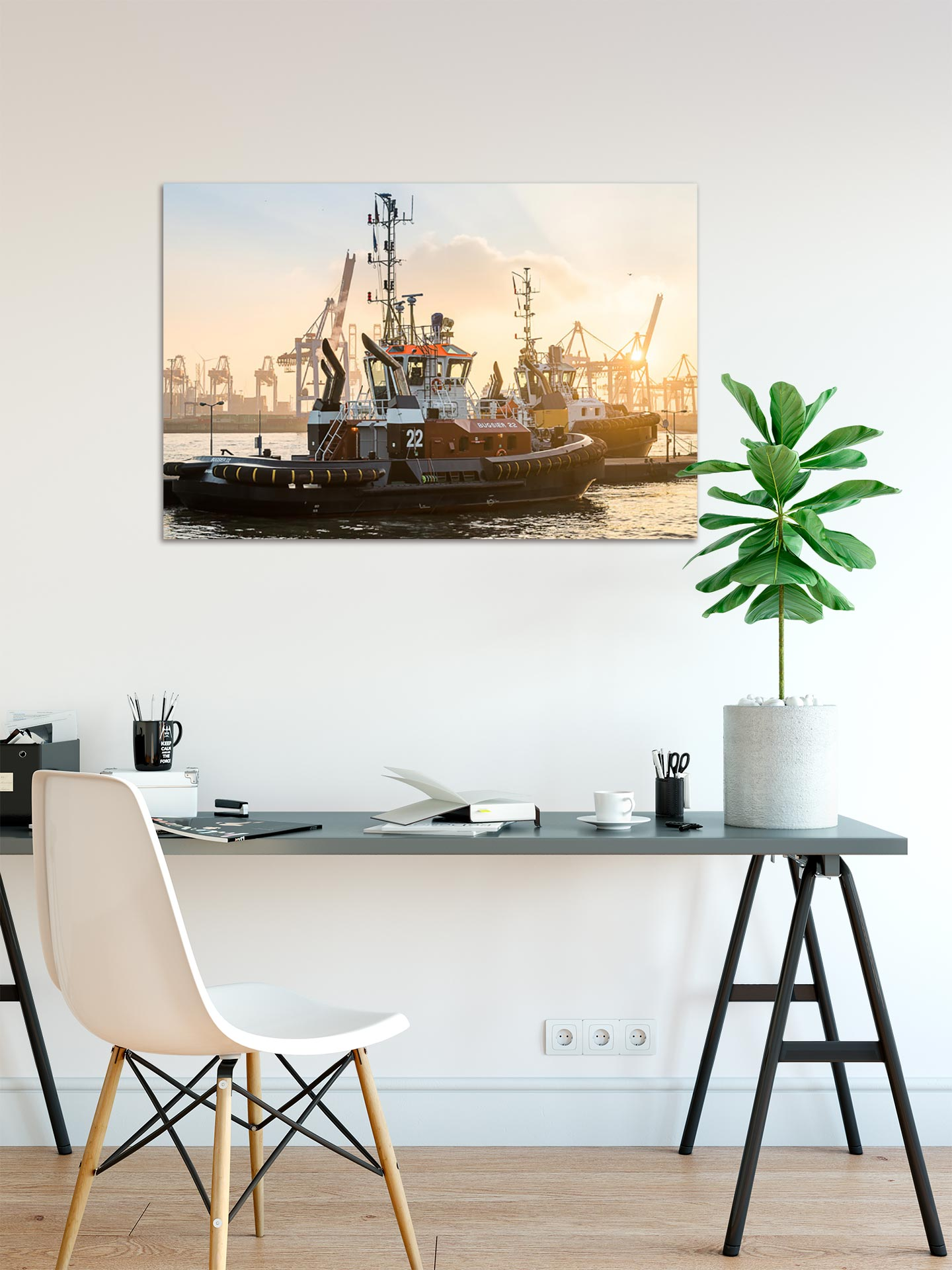 JS060-bugsier-22-wandbild-bild-auf-leinwand-acrylglas-aludibond-arbeitszimmer
