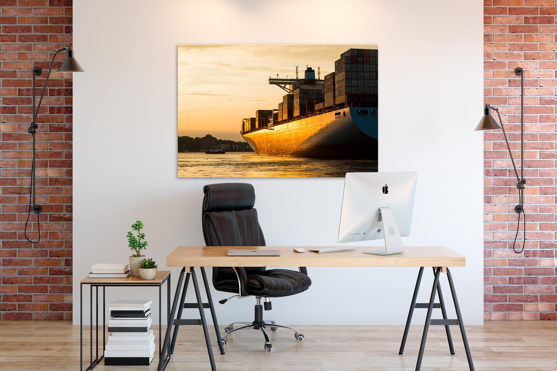JS090-goldenes-licht-wandbild-bild-auf-leinwand-acrylglas-aludibond-buero