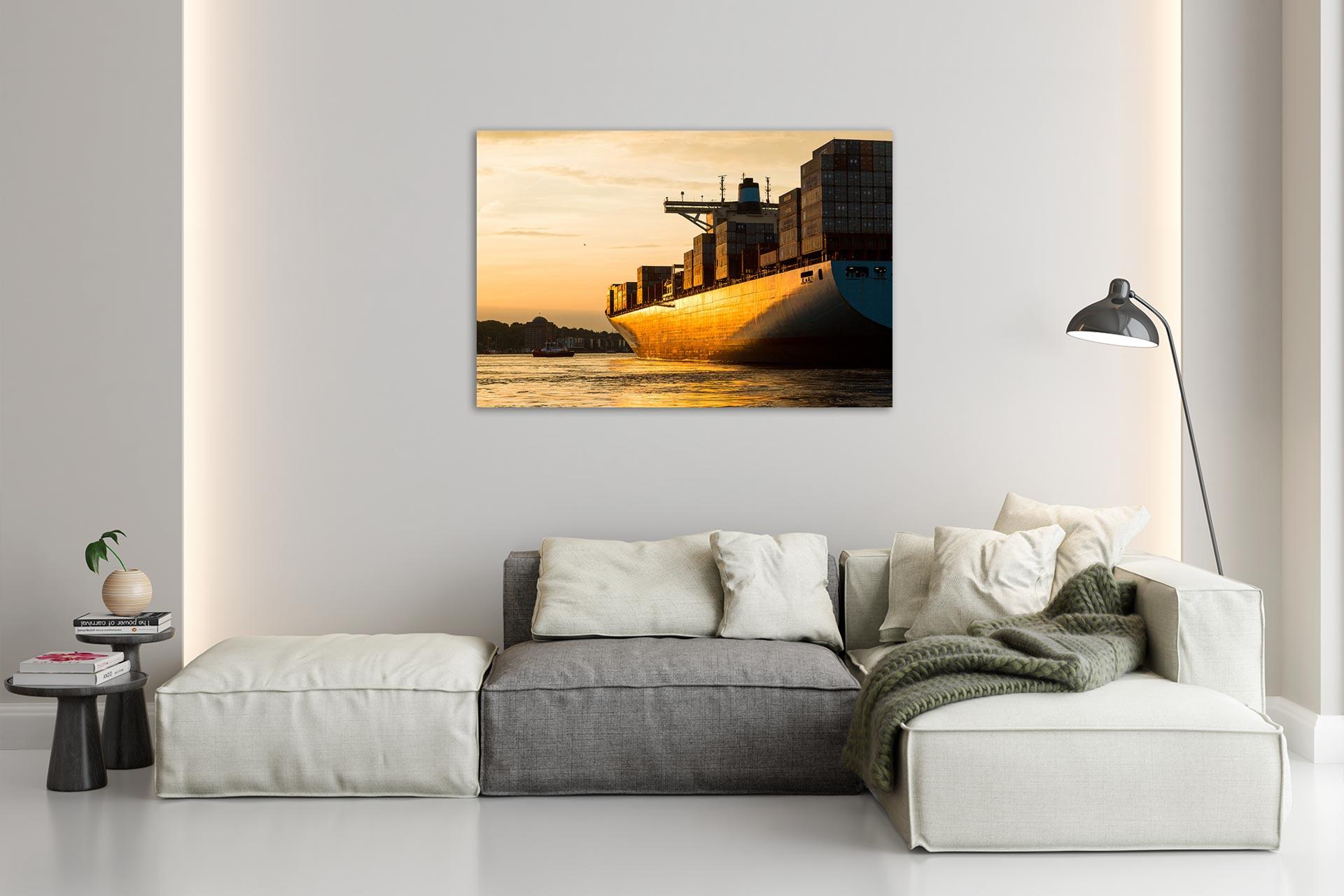 JS090-goldenes-licht-wandbild-bild-auf-leinwand-acrylglas-aludibond-wohnzimmer