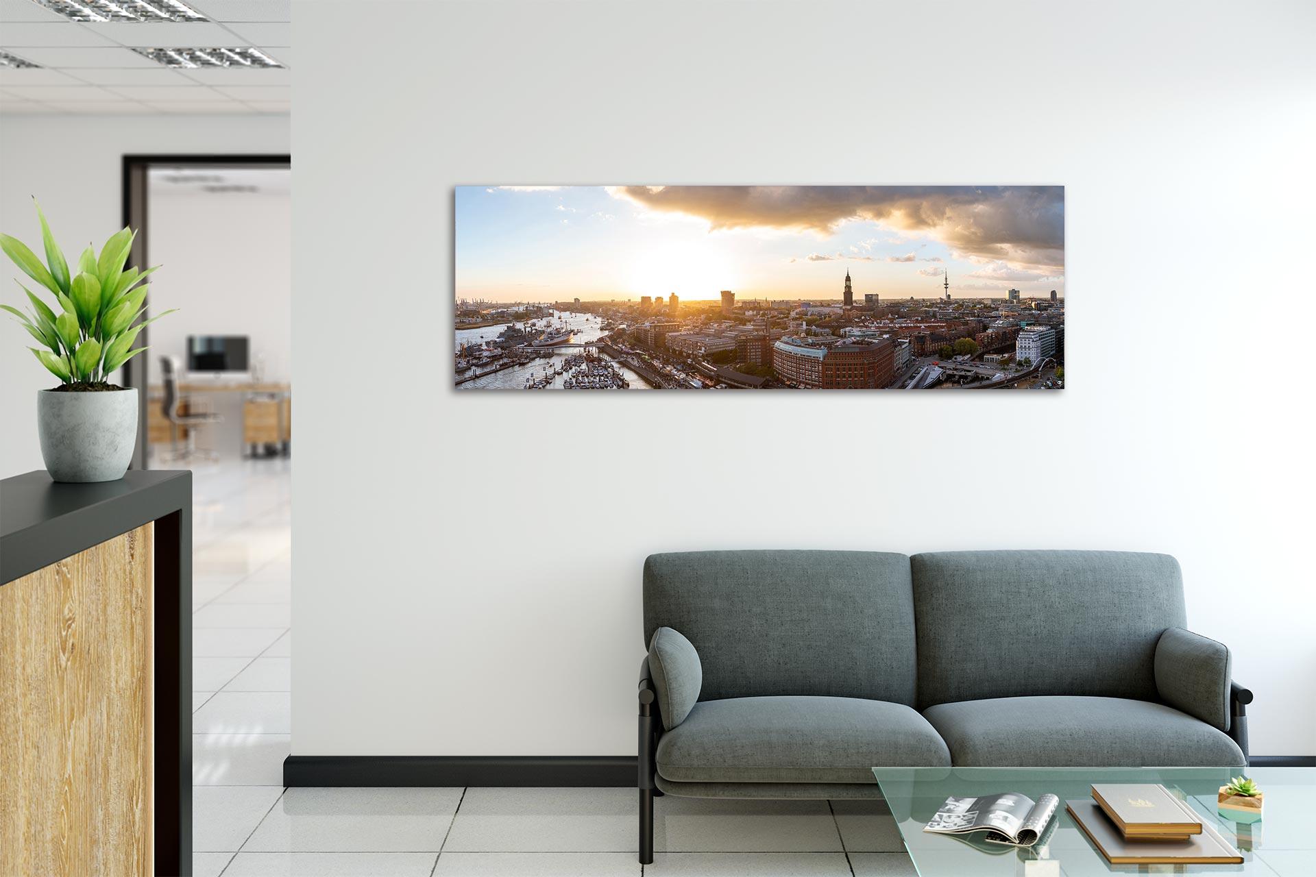 JS306-panorama-hafen-wandbild-auf-leinwand-acrylglas-aludibond-empfang