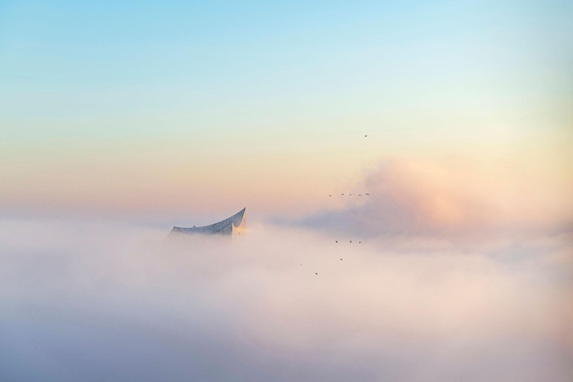 Elbphilharmonie im Nebel – Soundcloud