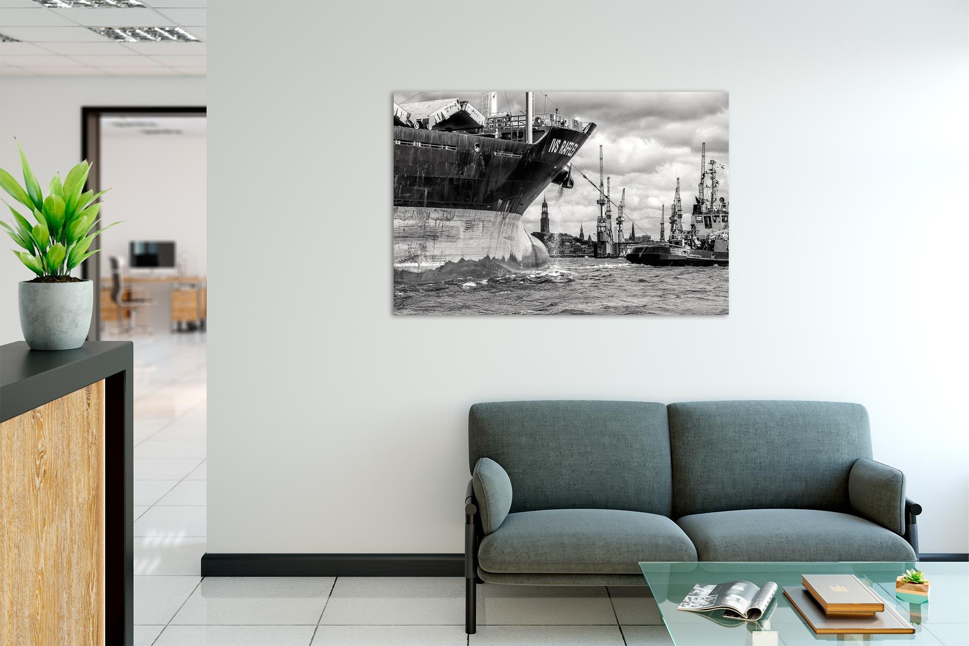 LSW095-kurs-hamburg-wandbild-auf-leinwand-acrylglas-aludibond-empfang