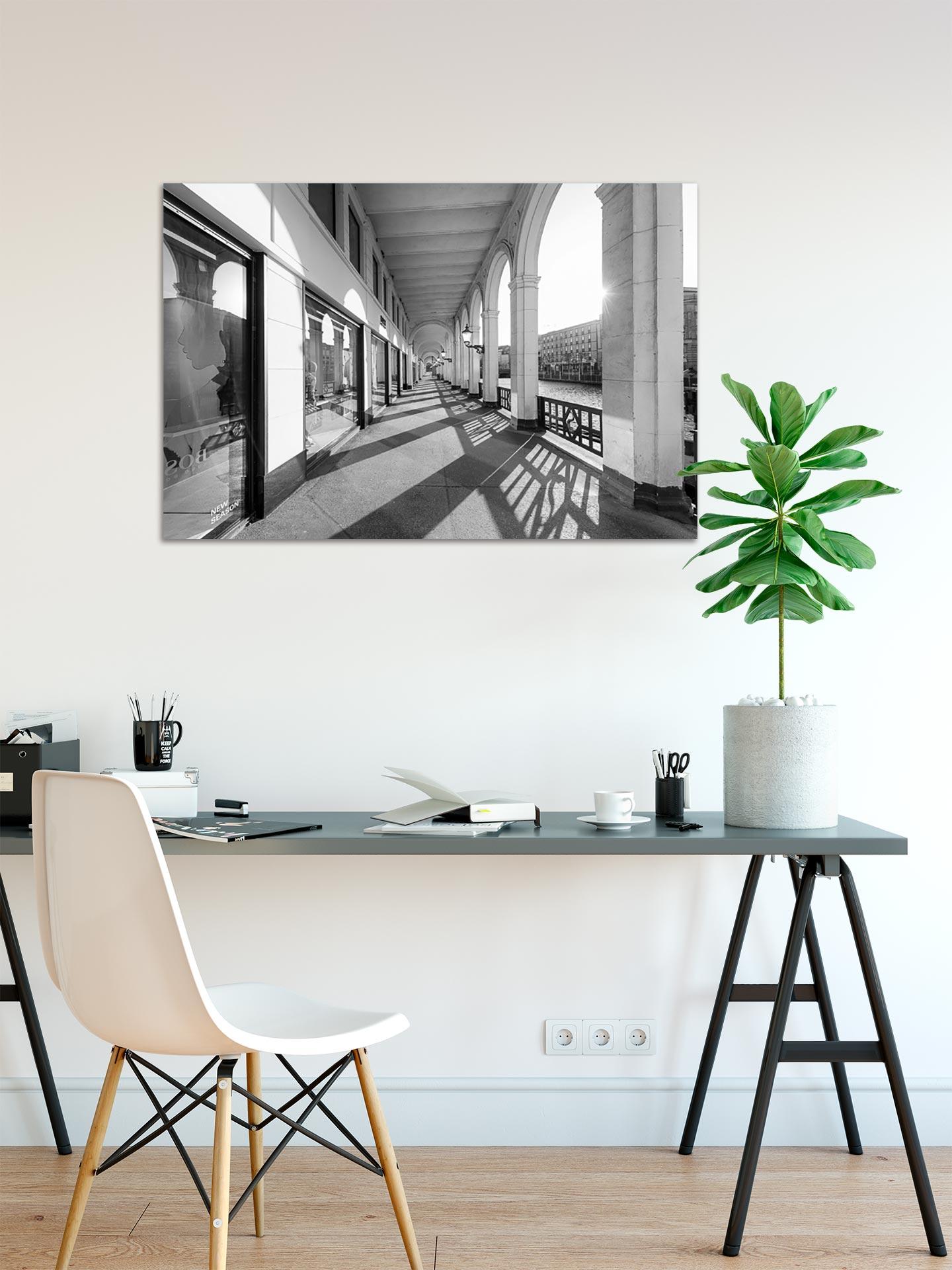 LSW105-alsterarkaden-wandbild-auf-leinwand-acrylglas-aludibond-arbeitszimmer