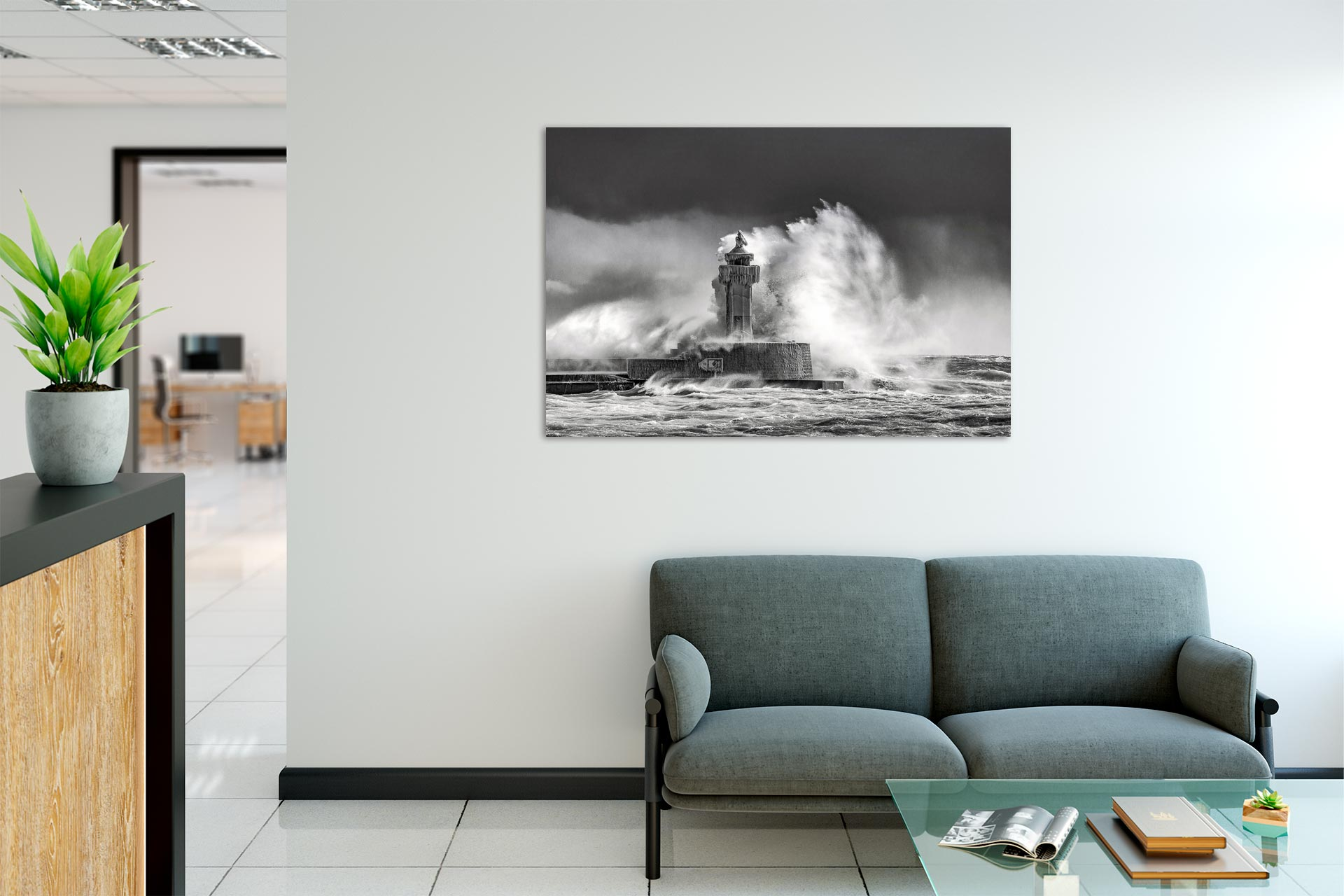 LSW300-leuchtfeuer-wandbild-auf-leinwand-acrylglas-aludibond-empfang