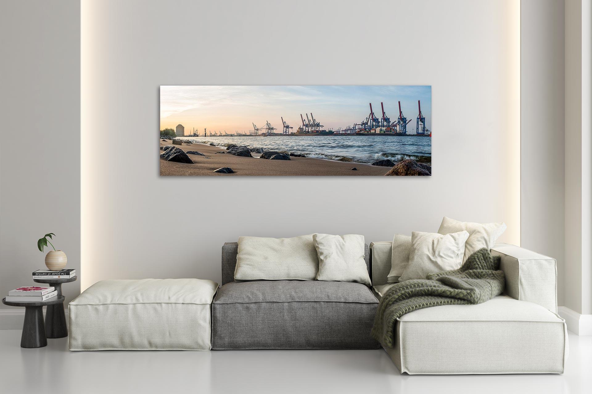 PSW046-panorama-elbstrand-hafen-leinwand-acrylglas-aludibond-wohnzimmer