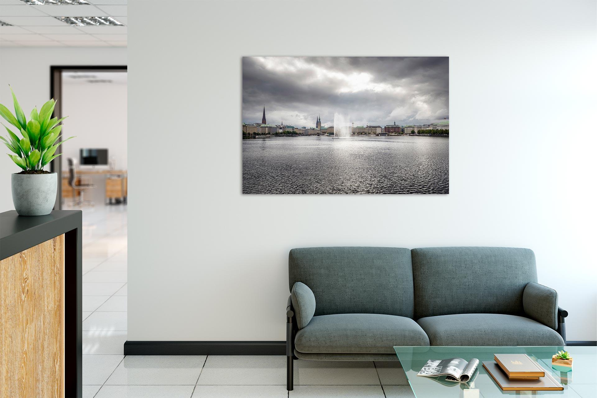 TG616-silbrige-alster-wandbild-bild-auf-leinwand-acrylglas-aludibond-empfang
