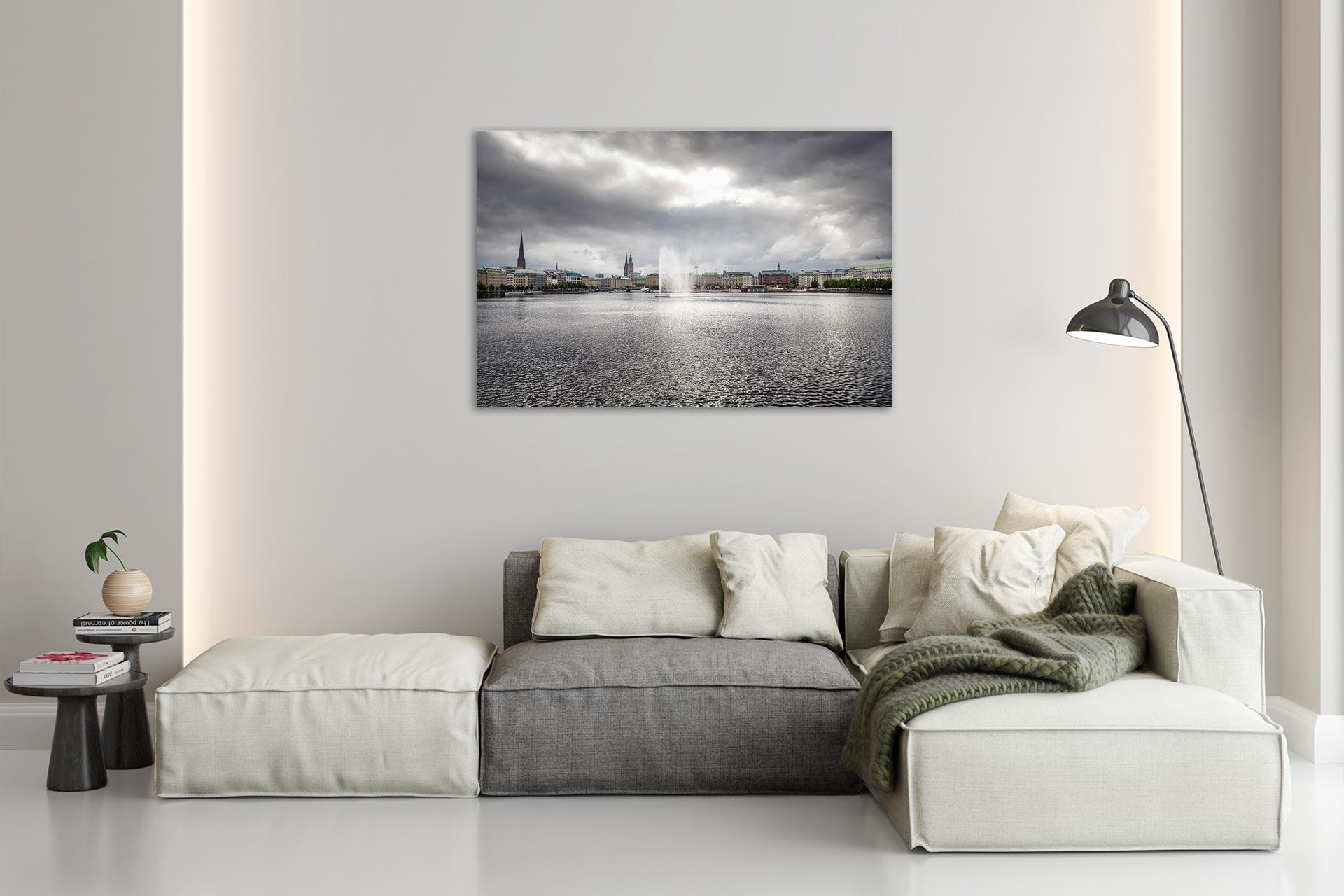 TG616-silbrige-alster-wandbild-bild-auf-leinwand-acrylglas-aludibond-wohnzimmer