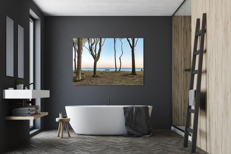 LCW511-ostsee-wandbild-bild-auf-leinwand-acrylglas-aludibond-stille-see-Badezimmer