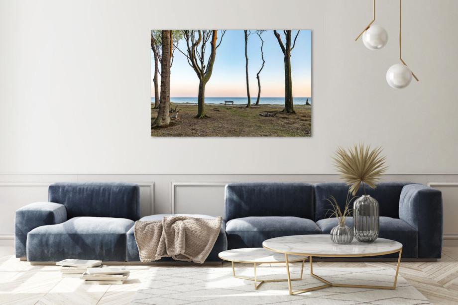 LCW511-ostsee-wandbild-bild-auf-leinwand-acrylglas-aludibond-stille-see-Wohnzimmer