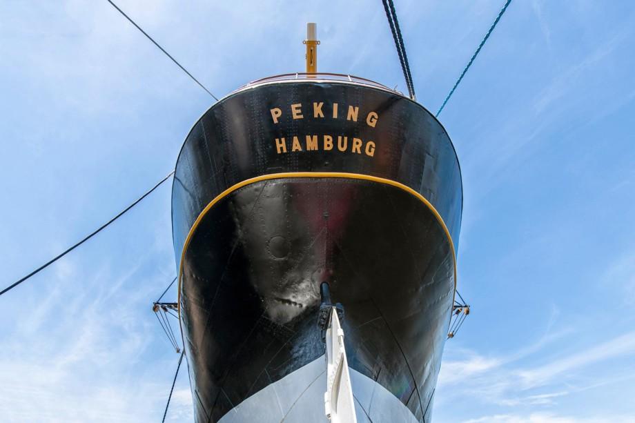 NL092-viermastbark-peking-hamburg-wandbild-leinwand-acrylglas-aludibond
