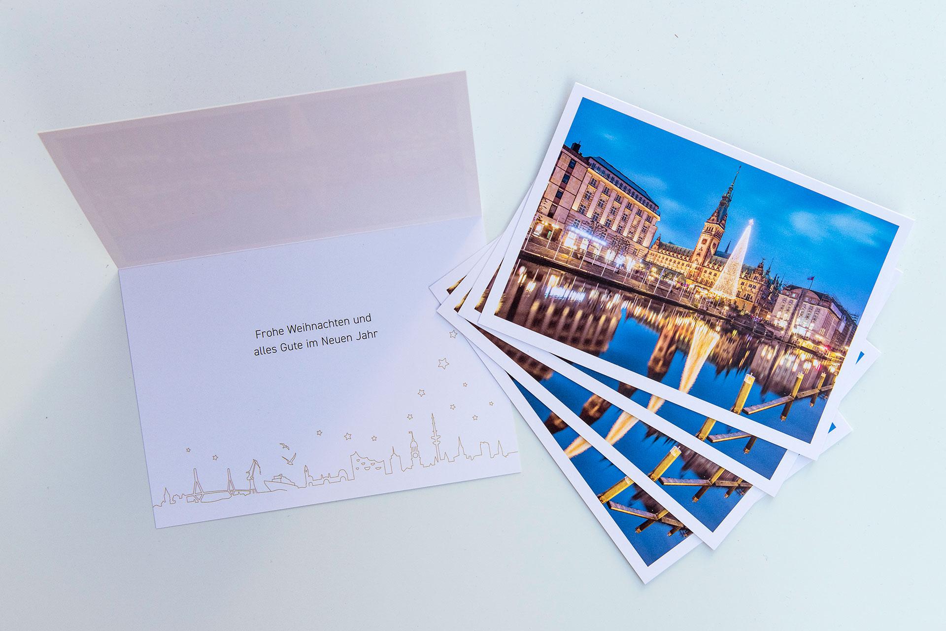 wk2020-klappkarte-weihnachtskarte-hamburg-michel-und-elbe-set