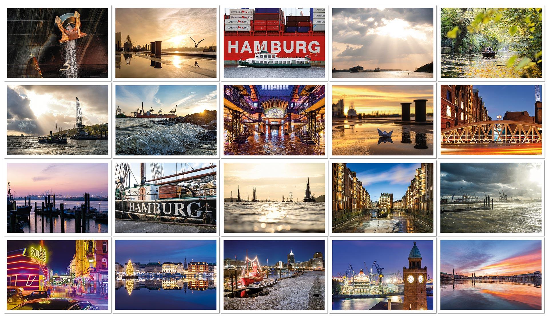 PK20-postkarten-postkartenset-hamburg-michel-undelbe