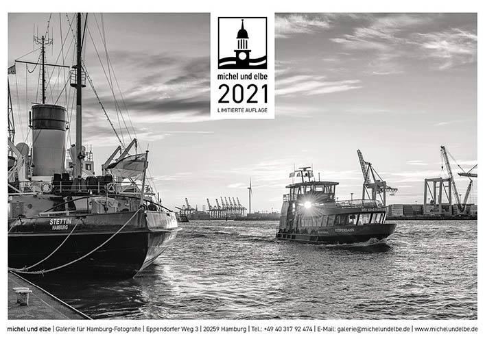 Hamburg Kalender 2021 SW