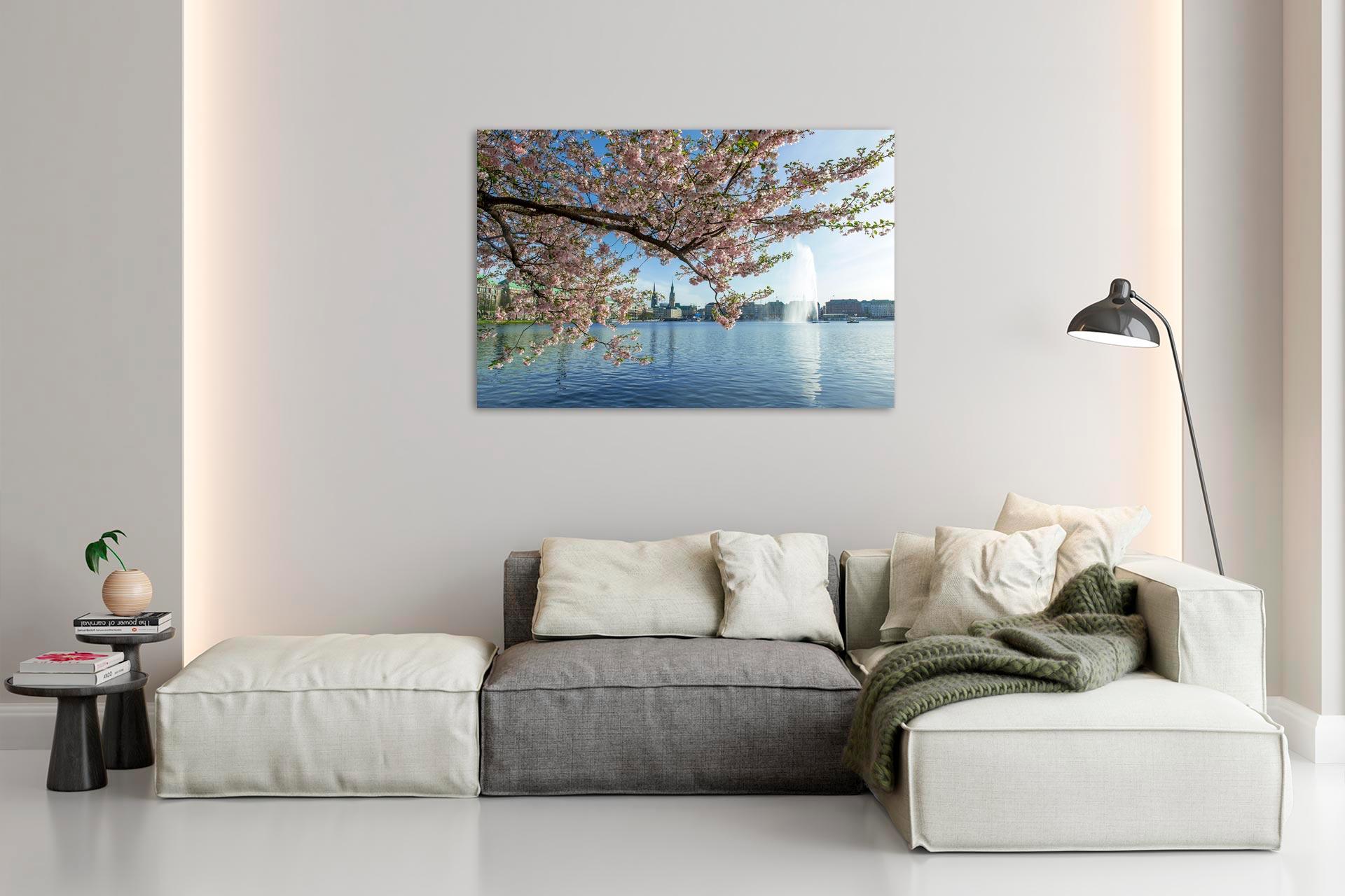 NL033-bluetenzweig-alster-wandbild-leinwand-acrylglas-aludibond-wohnzimmer