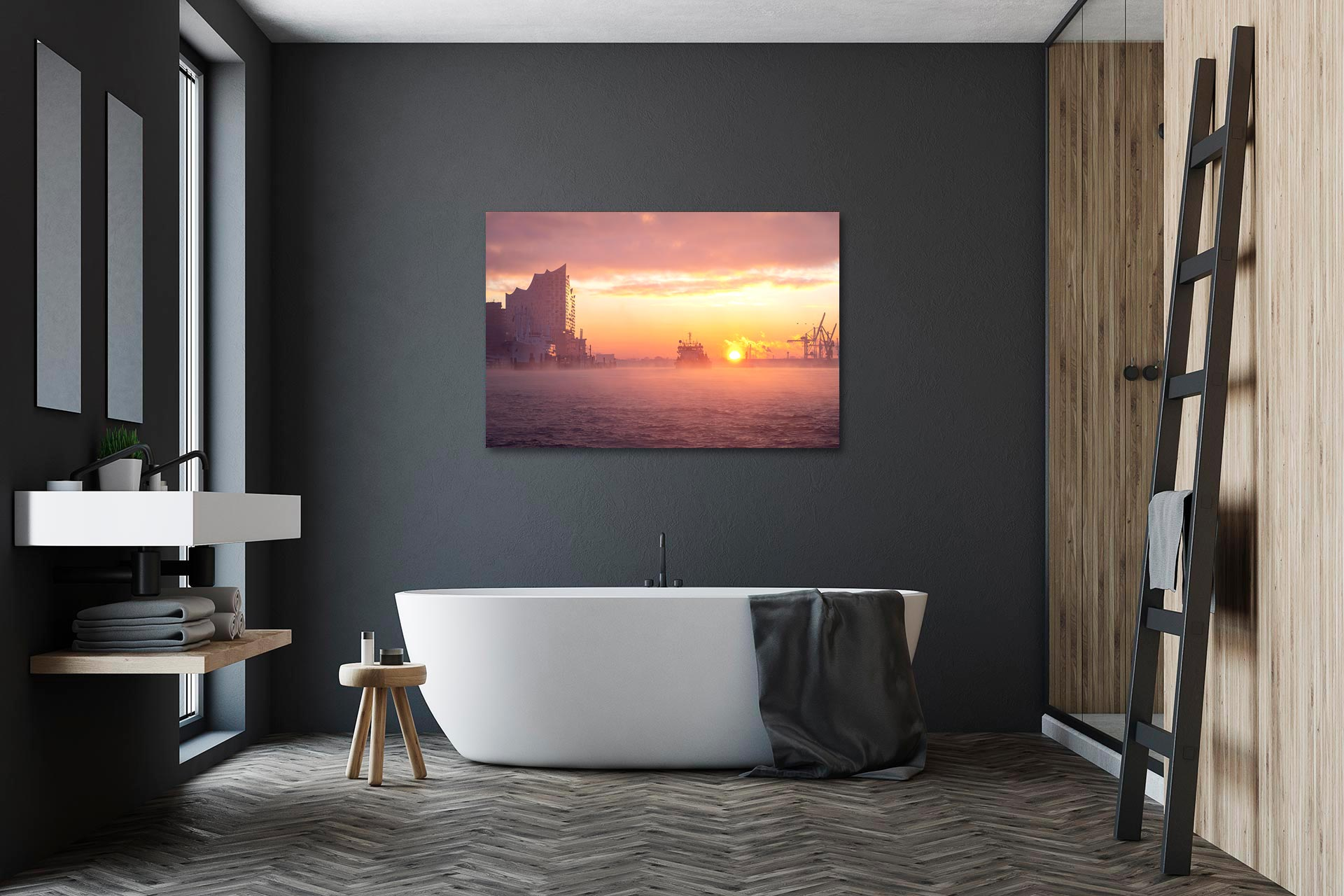 LCW290-wintersonne-wandbild-bild-auf-leinwand-acrylglas-aludibond-badezimmer