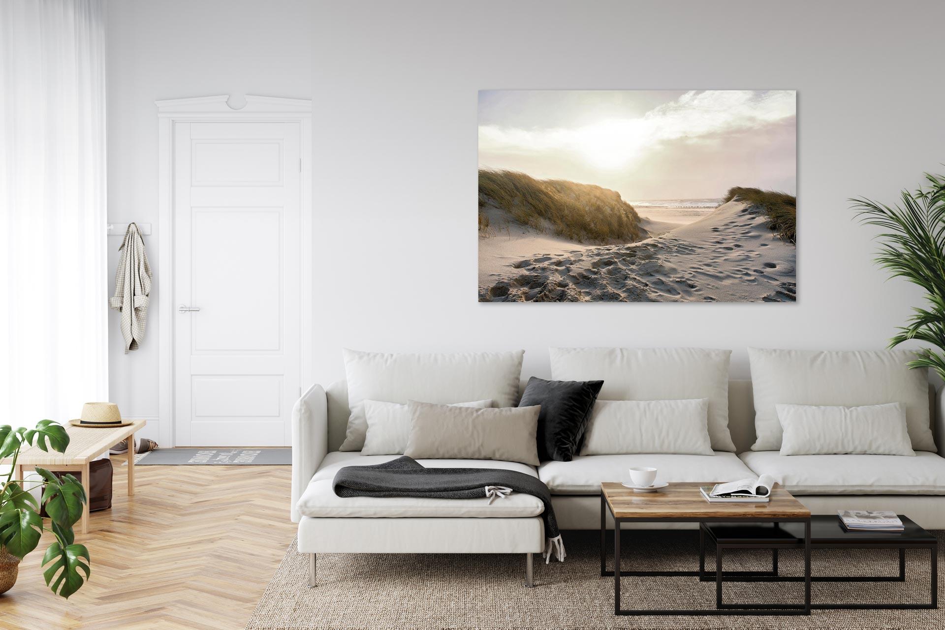 Maritime Landschaften Bild auf Leinwand Dibond Acrylglas Norddeutschland
